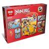 Lepin 06035 Bela 10525 Sheng Yuan 591 SY591 (NOT Lego Ninjago Movie 66549 Salvage M.e.c., Extra Awesome Edition ) Xếp hình Robot Thợ Săn 478 khối