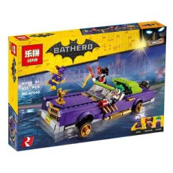 Lepin 07046 Sheng Yuan 946 SY946 Bela 10633 (NOT Lego Batman Movie 70906 The Joker Notorious Lowrider ) Xếp hình Các Joker Notorious Lowrider 433 khối