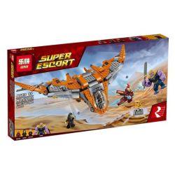 Bela 10839 Lari 10839 LEPIN 07103 SHENG YUAN SY 1099-1 SY1043 1043 Xếp hình kiểu Lego MARVEL SUPER HEROES Thanos Ultimate Battle Dynasty The Ultimate Battle Trận Chiến Cuối Cùng 674 khối
