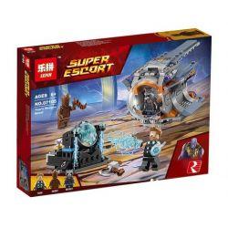 Bela 10835 Lari 10835 LEPIN 07105 Xếp hình kiểu Lego MARVEL SUPER HEROES Thor's Weapon Quest Thunder God Search Vũ Khí Tối Thượng Của Thor 223 khối