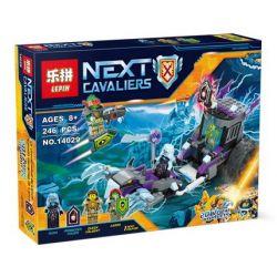 Bela 10591 Lari 10591 LEPIN 14029 SHENG YUAN SY 863 SY863 Xếp hình kiểu Lego NEXO KNIGHTS Ruina's Lock & Roller Thundermate Witch's Organ Prison Chariot Xe Lăn Nhốt Tù Binh 208 khối