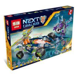Bela 10704 Lari 10704 LEPIN 14035 SHENG YUAN SY SY897 Xếp hình kiểu Lego NEXO KNIGHTS Aaron's Rock Climber Alon's Rock Crawler Cỗ Xe Leo đá Của Aaron 598 khối