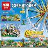 Lepin 15012 Lele 30000 Sheng Yuan 1218 (NOT Lego Creator Expert 10247 Ferris Wheel ) Xếp hình Đu Quay Tròn Đứng 2518 khối