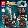 Lepin 16002 King 83002 (NOT Lego Movie 70810 Metalbeard's Sea Cow ) Xếp hình Thuyền Bò Biển Của Thuyền Trưởng Râu Sắt 2791 khối