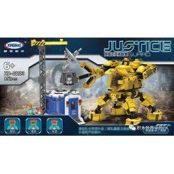 XINGBAO XB-02103 02103 XB02103 Xếp hình kiểu Lego JUSTICE GUARD Earth Justice Alliance Alien Engineering Team Người Máy Công Lý MECHS 851 khối