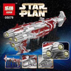 LEPIN 05079 MOULDKING MOULD KING 21002 Xếp hình kiểu Lego STAR WARS Old Republic Escorts Cruiser Tàu Chiến Không Gian 7956 khối