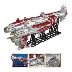 LEPIN 05079 Xếp hình kiểu Lego STAR WARS  Tàu chiến không gian 7956 khối