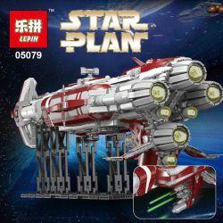 LEPIN 05079 Xếp hình kiểu Lego STAR WARS Old Republic Escort Cruiser Tàu Chiến Không Gian 7956 khối