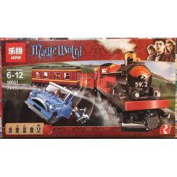 LEPIN 16031 Xếp hình kiểu Lego HARRY POTTER Hogwarts Express Harry Potter Hogworth Express Train Tàu Tốc Hành Của Trường Học Phù Thủy Hogwart 646 khối