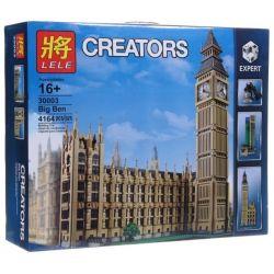 LELE 30003 LEPIN 17005 LION KING 180140 Xếp hình kiểu Lego CREATOR EXPERT Big Ben Tháp đồng Hồ Big Ben 4163 khối