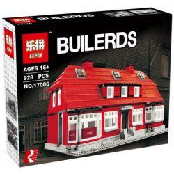LEPIN 17006 Xếp hình kiểu Lego MISCELLANEOUS Ole Kirk's House Nhà Của Ole Kirk gồm 2 hộp nhỏ 910 khối