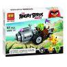Lepin 19001 Bela 10505 (NOT Lego Angry Birds 75821 Piggy Car Escape ) Xếp hình Cuộc Tẩu Thoát Của Siêu Trộm Trứng Piggy 101 khối