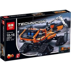 Lepin 20012 (NOT Lego Technic 42038 Arctic Truck ) Xếp hình Xe Tải Bánh Xích Chạy Trên Băng 913 khối