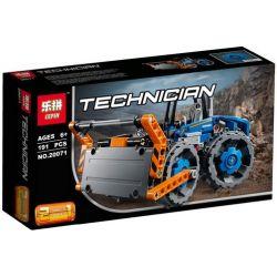 Lepin 20071 Bela 10822 (NOT Lego Technic 42071 Dozer Compactor ) Xếp hình Xe Lu 191 khối