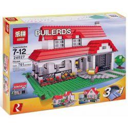 Lepin 24027 (NOT Lego Creator 4956 House ) Xếp hình Căn Nhà 761 khối