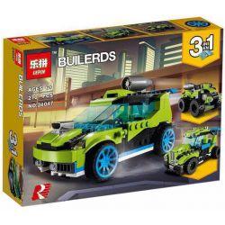 Lepin 24047 Decool 3128 Bela 11046 (NOT Lego Creator 31074 Rocket Rally Car ) Xếp hình Xe Địa Hình Tên Lửa lắp được 3 mẫu 270 khối