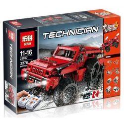 Lepin 23007 (NOT Lego Technic MOC-4731 Paramount Marauder ) Xếp hình Xe Ô Tô Địa Hình Điều Khiển Từ Xa 2278 khối