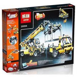 NOT Lego TECHNIC 42009 Mobile Crane MK II, KING 90004 LEPIN 20004 LION KING 180096 Xếp hình Cần Trục Tự Hành 2606 khối có động cơ pin