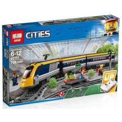 Bela 11001 Lari 11001 LEPIN 02117 LION KING 180038 QUEEN 82087 TIGERS 40025 Xếp hình kiểu Lego CITY Train Passenger Train Tàu Hỏa Chở Khách Có điều Khiển Từ Xa 677 khối điều khiển từ xa