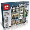 Lepin 15008 15008B Lele 30005 Pogo 10002 King 84008 (NOT Lego Creator Expert 10185 Green Grocer ) Xếp hình Cửa Hàng Tạp Hóa Xanh Có Đèn 2462 khối