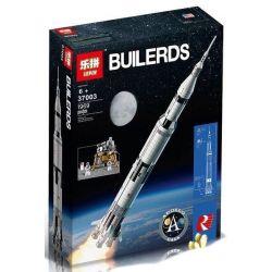 Lepin 37003 King 80013 (NOT Lego Ideas 21309 Nasa Apollo Saturn V ) Xếp hình Tàu Vũ Trụ Apollo Saturn V 1969 khối