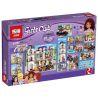Lepin 01045 Bela 10547 Sheng Yuan 830 SY830 (NOT Lego Friends 41101 Heartlake Grand Hotel ) Xếp hình Khách Sạn Lớn Hồ Trái Tim 1585 khối