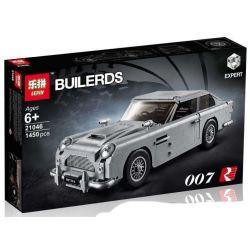 Lepin 21046 Sheng Yuan 1171 Bela 11010 Lele 39124 (NOT Lego Creator Expert 10262 James BondAston Martin Db5 ) Xếp hình Ô Tô Của Điệp Viên 007 1450 khối