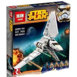LEPIN 05057 Xếp hình kiểu Lego STAR WARS Imperial Shuttle Tydirium Empire Shuttle Tàu Vận Chuyển Hoàng đế 937 khối