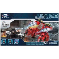 Xingbao XB-02104 (NOT Lego Justice Guard The Fascinating Pursuit Between Police Cars And Model Cars ) Xếp hình Cuộc Rượt Đuổi Hấp Dẫn Giữa Xe Cảnh Sát Và Xe Mô Hình 962 khối
