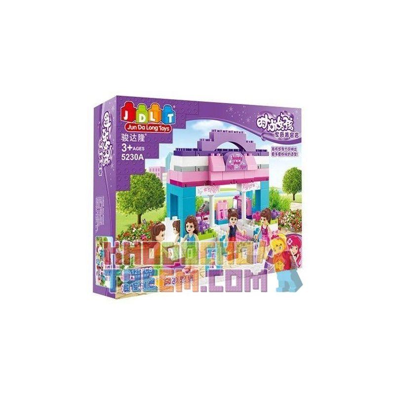 Jdlt Judalongtoys 5230A (NOT Lego Duplo Wonderful With Girls At Beauty Store ) Xếp hình Cửa Hàng Mỹ Phẩm Lộng Lẫy Của Các Cô Gái 125 khối