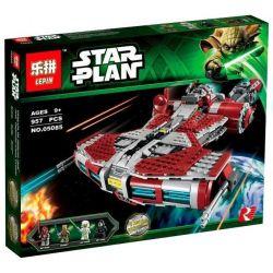 LEPIN 05085 Xếp hình kiểu Lego STAR WARS Jedi Defender-class Cruiser Jedi Guardry Cruise Ship Tàu Phòng Vệ Của Hiệp Sỹ Jedi 927 khối