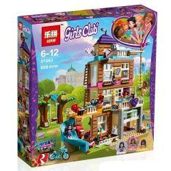 Bela 10859 Lari 10859 BLX 82109 LELE 37077 LEPIN 01063 LEZI 97021 SHENG YUAN SY SY1006 1006 SX 3012 Xếp hình kiểu Lego FRIENDS Friendship House Good Friend Xinhu City Friendship Club Ngôi Nhà Tình B