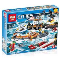 NOT Lego CITY 60167 Coast Guard Headquarters , Bela 10755 Lari 10755 LELE 39054 LEPIN 02081 Xếp hình Trụ Sở Cảnh Sát Tuần Tra Bờ Biển 792 khối