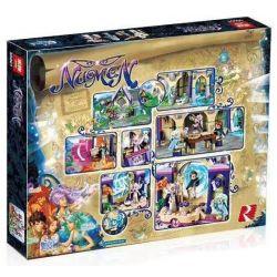NOT Lego ELVES 41078 Skyra's Mysterious Sky Castle, Bela 10415 Lari 10415 LELE 79225 LEPIN 30001 Xếp hình Lâu đài Thần Bí Trên Không Của Skyra 808 khối