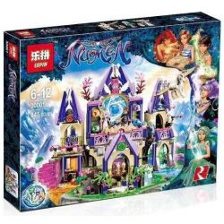 Bela 10415 Lari 10415 LELE 79225 LEPIN 30001 Xếp hình kiểu Lego ELVES Skyra's Mysterious Sky Castle Elf The Mysterious Sky Castle Of Skilla Lâu đài Thần Bí Trên Không Của Skyra 808 khối