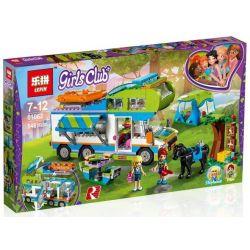 Bela 10858 Lari 10858 LEPIN 01062 SHENG YUAN SY 1034 Xếp hình kiểu Lego FRIENDS Mia's Camper Van Good Friend Summer Mia's Camper Buổi Cắm Trại Thú Vị Của Mia 488 khối