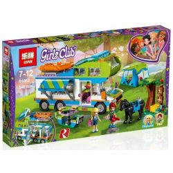 NOT Lego FRIENDS 41339 Mia's Camper Van Good Friend Summer Mia's Camper , Bela 10858 Lari 10858 LEPIN 01062 SHENG YUAN SY 1034 Xếp hình Buổi Cắm Trại Thú Vị Của Mia 488 khối