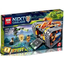 Lepin 14042 (NOT Lego Nexo Knights 72006 Axl's Rolling Arsenal ) Xếp hình Đại Bác Liên Hòan Của Axl 676 khối