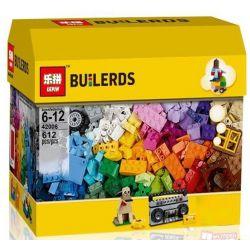 LEPIN 42006 Xếp hình kiểu Lego CLASSIC Creative Building Set Creative String Set Sáng Tạo Những Tòa Nhà Cao Tầng 583 khối