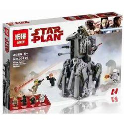 Bela 10899 Lari 10899 LEPIN 05126 Xếp hình kiểu Lego STAR WARS First Order Heavy Scout Walker First Order Heavy Detection Walking Machine Vũ Khí Hạng Nặng Scout Walker 554 khối