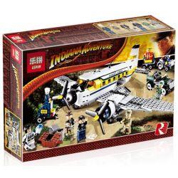 Lepin 31003 (NOT Lego Indiana Jones 7628 Adventure Of Jones Peril In Peru ) Xếp hình Cuộc Phiêu Lưu Của Jones Peril Ở Peru 700 khối