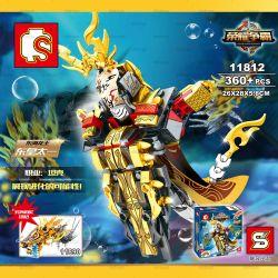 Sembo 11812 (NOT Lego Super Heroes The King Of The Sea Glory ) Xếp hình Vị Vua Của Biển Glory 360 khối