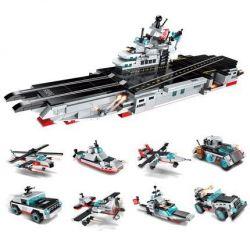 Enlighten 1406 1406-1 1406-2 1406-3 1406-4 1406-5 1406-6 1406-7 1406-8 Qman 1406 1406-1 1406-2 1406-3 1406-4 1406-5 1406-6 1406-7 1406-8 Xếp hình kiểu Lego TRANSFORMERS Combat Zones Series 航母战舰 Change