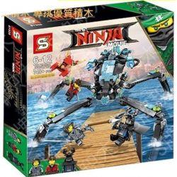 SHENG YUAN SY SY928 Xếp hình kiểu THE LEGO NINJAGO MOVIE Niya's Mount Robot Bọ Ngựa Của Nya 748 khối