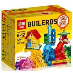 LEPIN 42007 Xếp hình kiểu Lego CLASSIC Creative Builder Box Stripetor Creative Box Sáng Tạo Mô Hình Hộp Nhỏ Xinh 502 khối