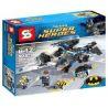 Sheng Yuan 300 SY300 (NOT Lego DC Comics Super Heroes 76001 The Bat Vs. Bane: Tumbler Chase ) Xếp hình Người Dơi Truy Đuổi Gordon Bằng Phi Thuyền 368 khối