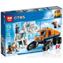 Lepin 02110 Bela 10995 Lele 28022 (NOT Lego City 60194 Arctic Scout Truck ) Xếp hình Xe Tải Thám Hiểm Bắc Cực 360 khối