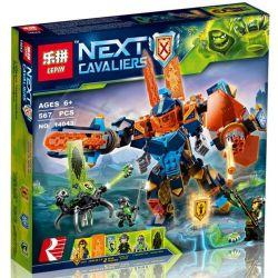 Bela 10817 Lari 10817 LEPIN 14043 Xếp hình kiểu Lego NEXO KNIGHTS Tech Wizard Showdown High-tech Magic Machine Armor War Người Máy Phép Thuật Khổng Lồ 506 khối