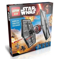 Bela 10465 Lari 10465 LELE 79210 LEPIN 05005 LION KING 180005 Xếp hình kiểu Lego STAR WARS First Order Special Forces TIE Fighter First Order Special Forces Titanium Fighter Phi Thuyền Tấn Công 517 kh