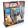 Lepin 05005 Bela 10465 Lele 79210 (NOT Lego Star wars 75101 First Order Special Forces Tie Fighter ) Xếp hình Phi Thuyền Tấn Công 550 khối